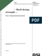 BS en 12516-3 2002 Industrial Valves - Experimental Method