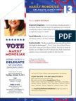 Marily Mondejar, Candidate for AD13 Delegate for CA Democratic Party