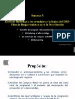 Semana 5 El Bullwhip y La Logica del DRP.pptx