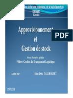 Cours approvisionnement et gestion du stock [Mode de compatibilité]