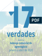 17 verdades sobre a balança comercial do agronegócio