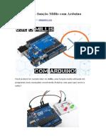 Como usar a função Millis com Arduino