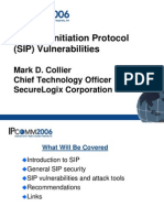 Voip Vulnerability IPCOMM_SIP