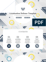 PPT Template CREATIVE RESEARCH REPORT