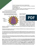 ClaseVIH Virología