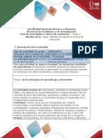 Guía de actividades y rúbrica de evaluación  tarea 2 Métodos de soporte a la toma de decisiones