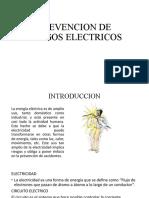 3.2 PREVENCION DE RIESGOS ELECTRICOS
