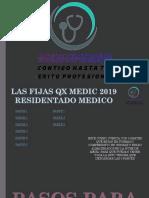 LAS FIJAS QX MEDIC RM 2019