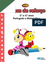 Fichas de Reforço 3.º e 4.º Anos