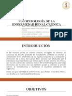 DIAPOSITIVAS DE FISIOPATOLOGÍA DE LA ENFERMEDAD RENAL CRÓNICA - FINAL