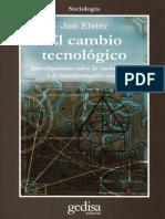 Elster John- Cambio tecnológico .pdf
