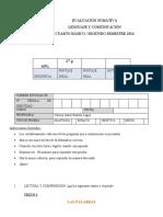 26 imprimir Prueba lenguaje y comunicacion cuarto basico agosto