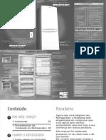Guia de Referência Rápida. BOTTOM Freezer 420. não tem comparação. ... Refrigerador CONTROLE DE TEMPERATURA.pdf