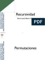 RecursividadPermutaciones