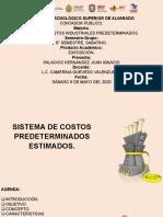 Palacios Hernández Juan Ignacio Presentación costos