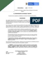 RESOLUCIÓN No. 03931  HABILITA GRUPO 3