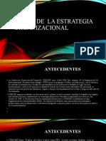 DISEÑO DE  LA ESTRATEGIA  ORGANIZACIONAL