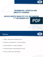 ASPECT_AND_IMPACT TRAINING - ADVICS NORTH INDIA