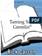 Taming your gremlin - Rick Carson ITA