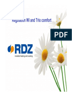 Presentation - RDZ thermoregulation systems