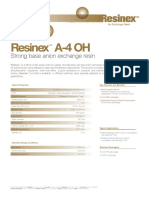 Anion Resin for DI