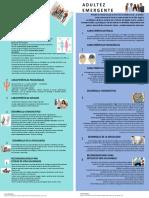 Infografía Adolescencia y Madurez Emergente