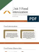 Unit 5 Food intoxication