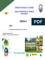 CLASE 5. COMPONENTES MAYORITARIOS EN ALIMENTOS UPLA