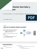 Modelo Cliente-Servidor y Middleware