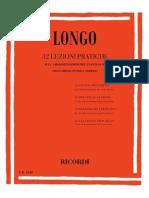 Longo Achille - 32 Lezioni Pratiche Sull'Armonizzazione Del Canto Dato - RICORDI