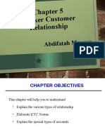 Chapter 5 Bank Customer Relationship