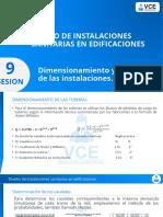 DISEÑO DE INSTALACIONES SANITARIAS SESION 9