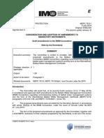MEPC 75-3-1 - Draft amendments to the BWM Convention (Secretariat).pdf