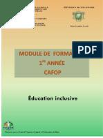 EDUCATION INCLUSIVE NOUVEAU 2018