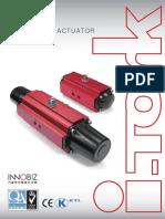 pneumatic actuator catalogue