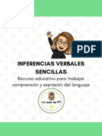 INFERENCIAS VERBALES SENCILLAS