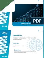Brochure Statistics for Data Science