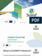 SUNREF Palestine TM