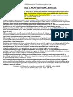 Evaluación económica provisional de la OCDE Coronavirus