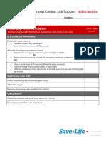 ACLS-Skills-Checklist