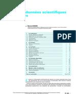 Banques de données scientifiques et techniques