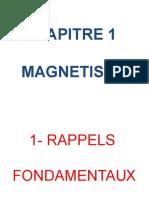 CH 2  MAGNETISME