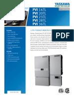 2. Ficha técnica Inversor PVI 36TL