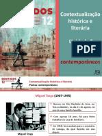 Contextualização Histórica e Literária (Poetas Contemporâneos)