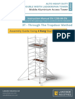 Alto-Access-Products-HD-3T-4-Rung-Starter-Frame-DW-instruction-manual