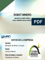 ROBOT MINERO