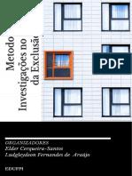 Livro Metodologia e Investigac3a7c3b5es No Campo Da Exclusc3a3o Social 02