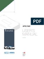 Audison AP8 9-Bit User Manual Rev2 0d