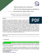 ARTICULO  ESTILO DE VIDA Y BIENESTAR INTEGRAL_Bachiller 2020 (1)