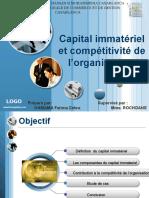 Capital Immateriel Et Competitivite de l